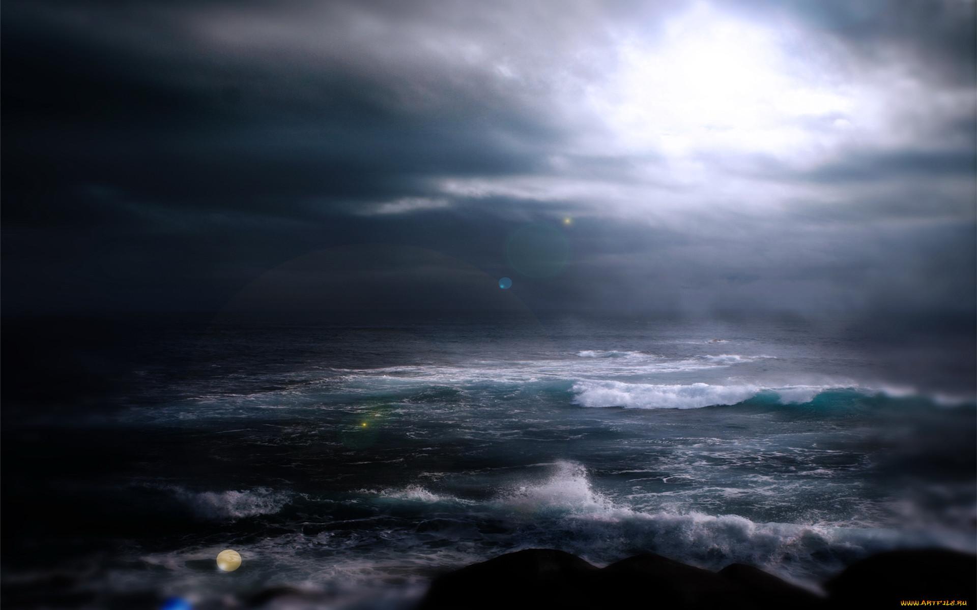 море мрачное фото уникален